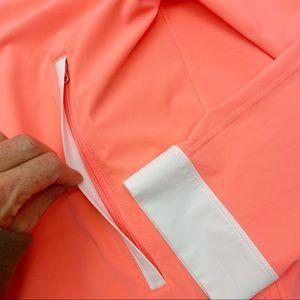 lululemon athletica Jackets & Coats - Lululemon Sun Showers Jacket: Grapefruit/White